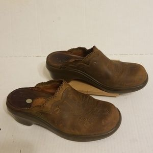 Ariat leather mule clogs women's shoes size 7